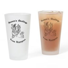 krampusTee Drinking Glass