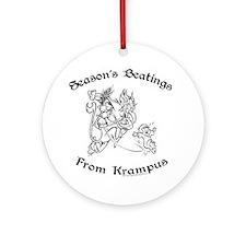 krampusTee Round Ornament