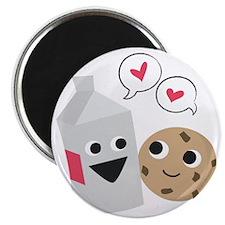 Milk  Cookie Love Magnet