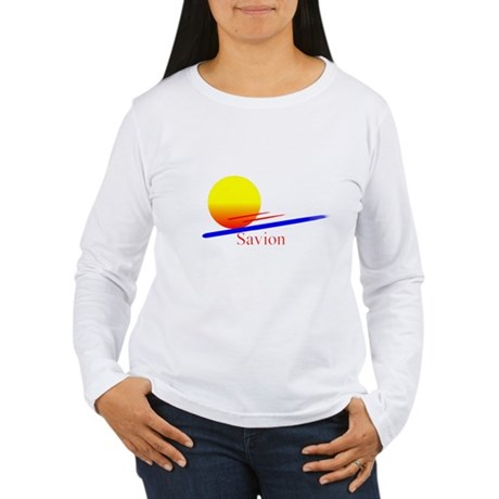 Savion Women's Long Sleeve T-Shirt