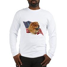 Chow Chow Flag Long Sleeve T-Shirt