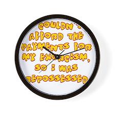 repossessed Wall Clock