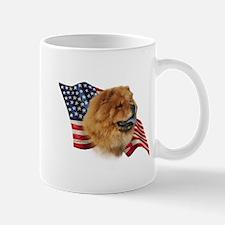 Chow Chow Flag Mug