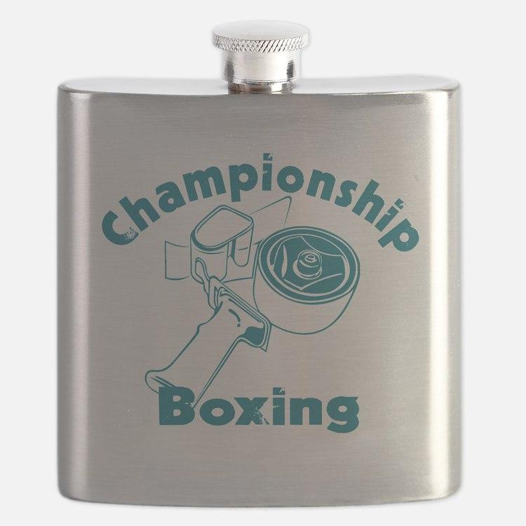 777663292555Championship Boxing Flask