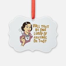 66644553Retro Coffee One Lump of  Ornament