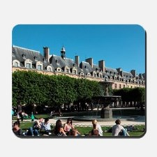 People relax in the garden of Place des  Mousepad
