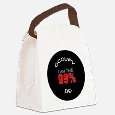occupy-dc Canvas Lunch Bag
