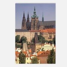 Charles Bridge and Prague Postcards (Package of 8)