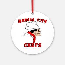 chefs1 Round Ornament