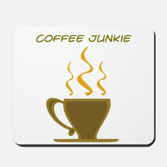 Coffe Junkie Mousepad