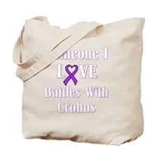 Crohns01-dark Tote Bag