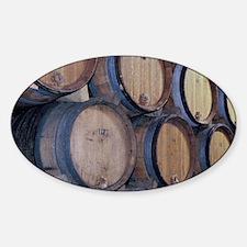 EU, France, Burgundy. Chablis winer Decal