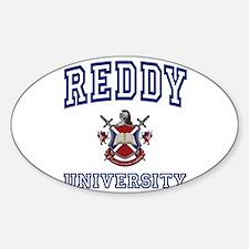 REDDY University Oval Decal