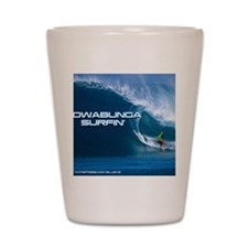Calender Surfing 4 Shot Glass