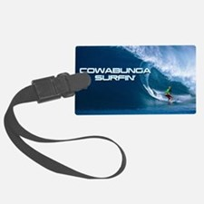 Calender Surfing 4 Luggage Tag