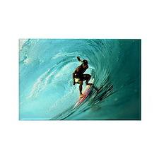 Calender Surfing 2 Rectangle Magnet