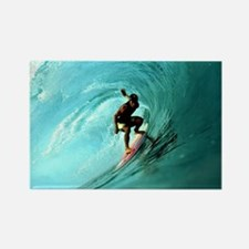 Calender Surfing 2 Rectangle Magnet