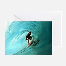 Calender Surfing 2 Greeting Card