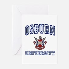 OSBURN University Greeting Cards (Pk of 10)