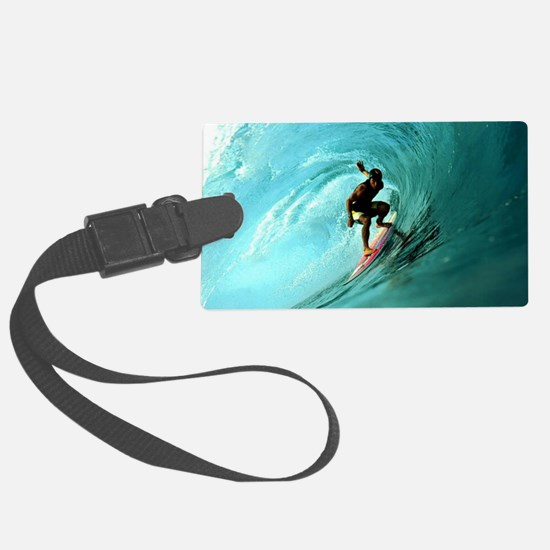 Calender Surfing 2 Luggage Tag