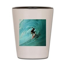 Calender Surfing 2 Shot Glass