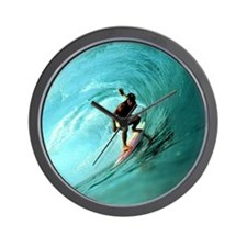 Calender Surfing 2 Wall Clock