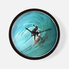 Calender Surfing 2 Wall Clock