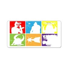 SciFiHeroes_Monsters Aluminum License Plate