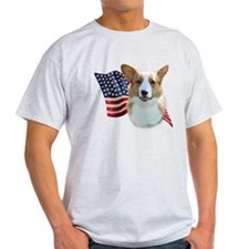 Corgi Flag T-Shirt