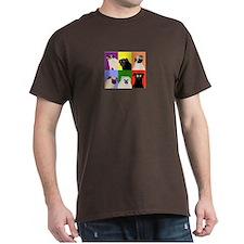 Rainbow Pugs Logo T-Shirt