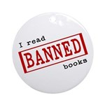 Banned Books Ornament (Round)