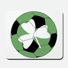 Soccer Shamrock Mousepad