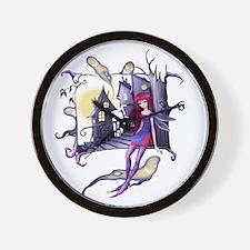 halloween02bc Wall Clock