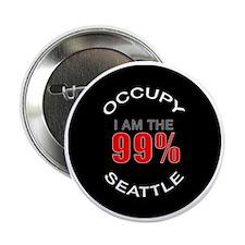 "occupy-seattle 2.25"" Button"