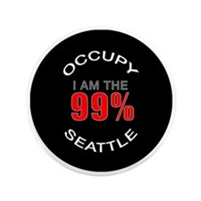 "occupy-seattle 3.5"" Button"
