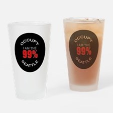 occupy-seattle Drinking Glass