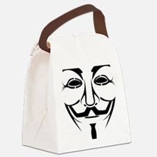 Fawkesmask Canvas Lunch Bag