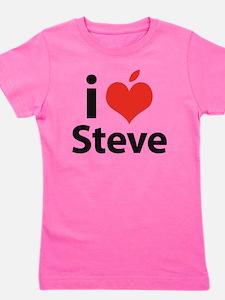 i love Steve Girl's Tee