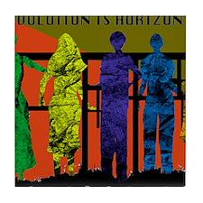 Revolution is Horizontal Tile Coaster