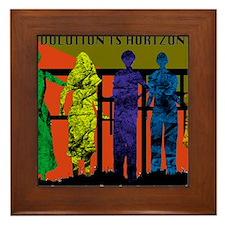 Revolution is Horizontal Framed Tile