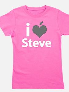 i love Steve grey Girl's Tee