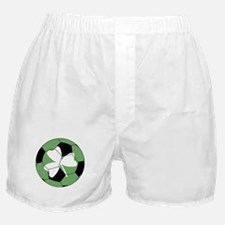 Soccer Shamrock Boxer Shorts