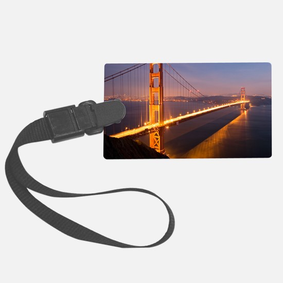 9x12_FramedPanelPrint_nightGGB12 Luggage Tag