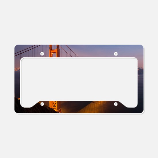 9x12_FramedPanelPrint_nightGG License Plate Holder