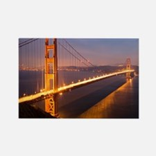 9x12_FramedPanelPrint_nightGGB122 Rectangle Magnet
