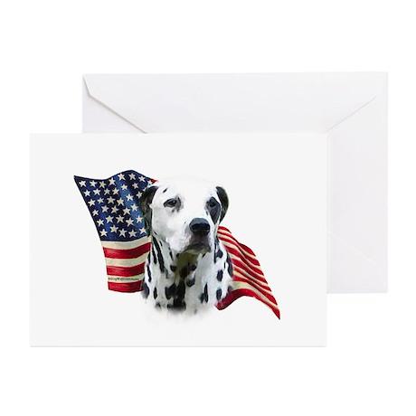 Dalmatian Flag Greeting Cards (Pk of 10)
