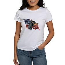Doberman Flag Tee