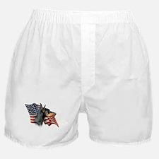 Doberman Flag Boxer Shorts