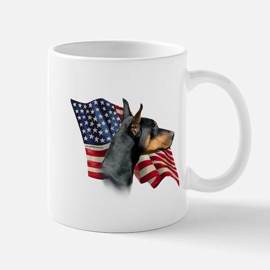 Doberman Flag Mug