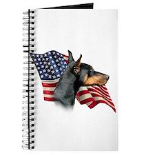 Doberman Flag Journal